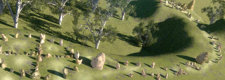 Mullumbimby Stone Circles