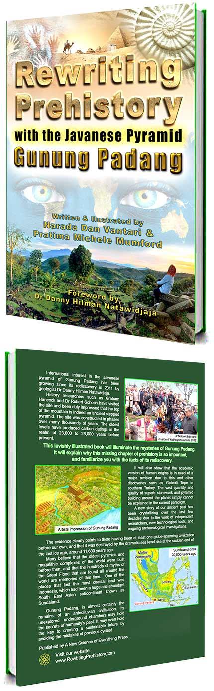 Rewriting Prehistory Gunung Padang Pyramid Covers